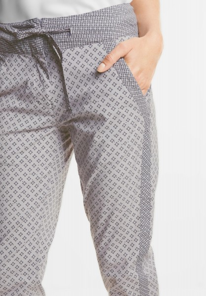 CECIL - Mustermix Print Hose in Greige