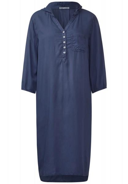 CECIL - Knielanges Tunika-Kleid Deep Blue