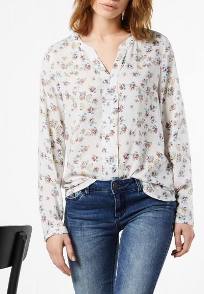 Street One - Bluse mit Blüten Kerstin Off White