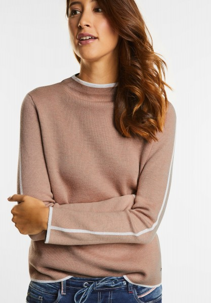 Street One - Doubleface Pullover Lola in Studio Rose Knit