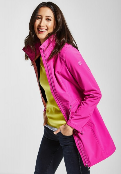 Street One - Softshell Mantel in Cyber Pink