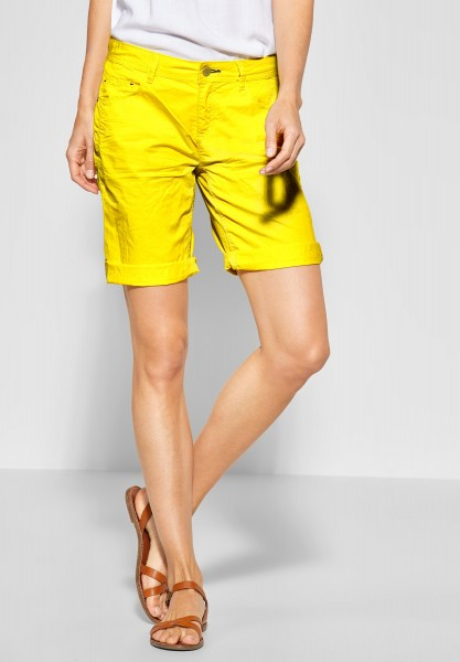 Street One - Basic Crash Bermuda Jane in Sunshine Yellow