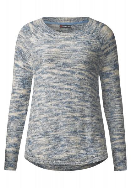 Street One - Melange Pullover Dana in Sailing Blue