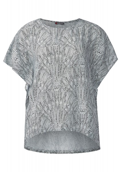 Street One - Strukturmix-Printshirt Enia Black