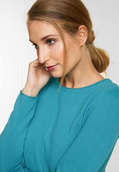 CECIL - Strick Pullover Amina in Peppermint Blue