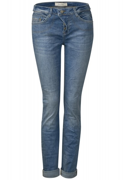 Street One - Loose Fit Jeans Mika in Authentic Indigo Wash