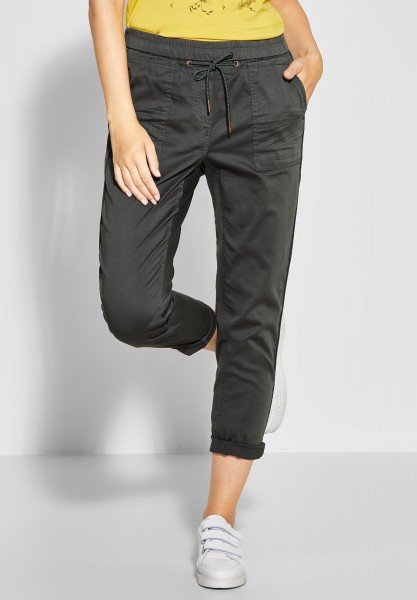 CECIL - 7/8 Hose Chelsea in Slate Green