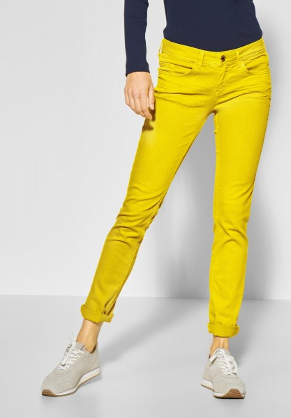 Street One - Colour Denim Jane in Sunshine Yellow