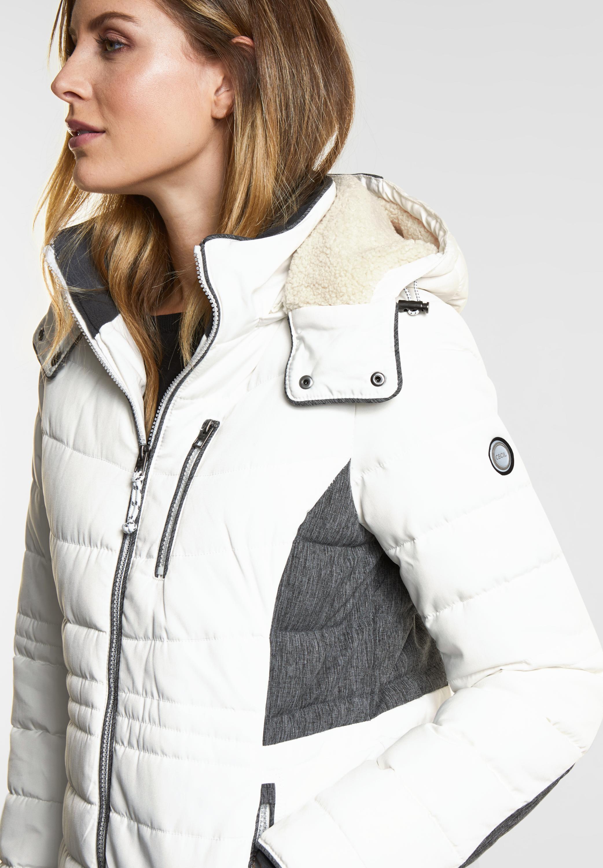 CECIL - Farbstarke Jacke in Pure Off White reduziert im Sale 285c5a69d9
