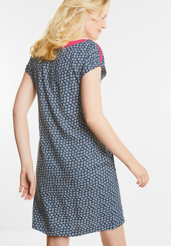 Sportives Kleid mit Punkten in Deep Blue von CECIL online ...