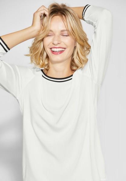 Street One - Weiches Shirt Binia in Off White