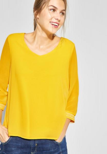 Street One - Shirt Rafaela in Creamy Lemon