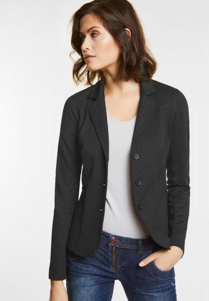 Street One - Jersey Blazer Nele in Black