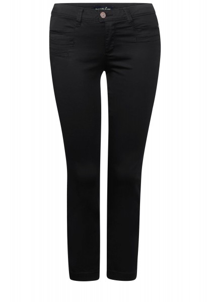 Street One - 7/8-Slim Fit Hose Yulius in Black
