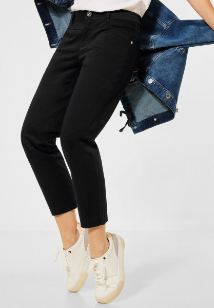 Street One - Casual Fit Hose in Black