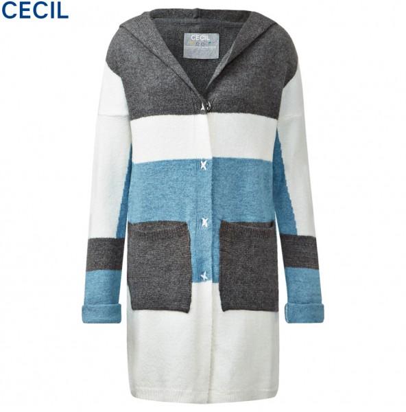 CECIL - Colourblock-Longcardigan