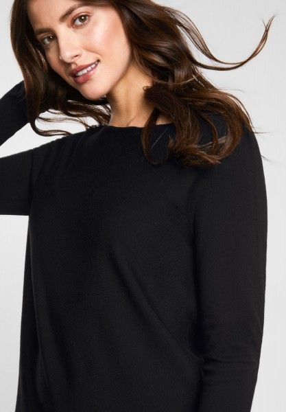 Street One - Basic Pullover Noreen in Black