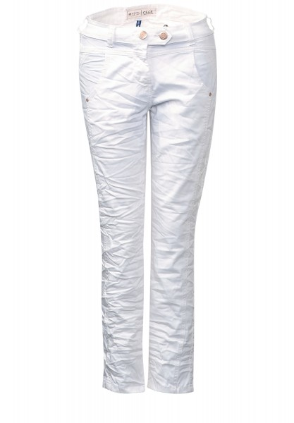 CECIL - Crinkle 7/8-Hose New York White