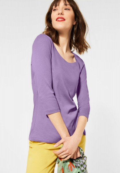 Street One - Basic Shirt Pania in Clear Lilac