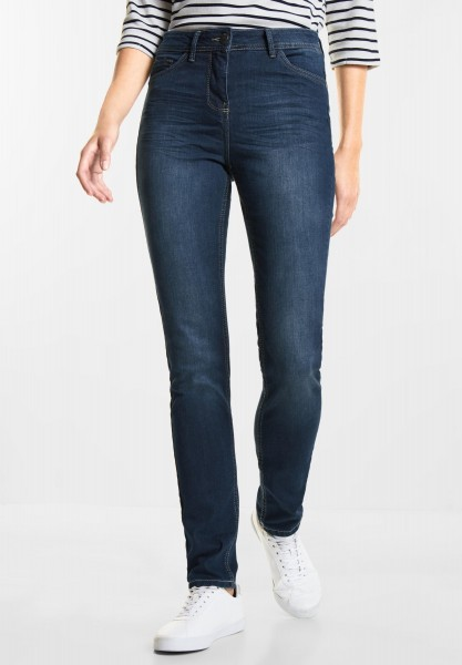 CECIL Blue Denim Toronto in Mid Blue used Wash