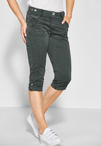 CECIL - Loose Fit Hose New York in Slate Green