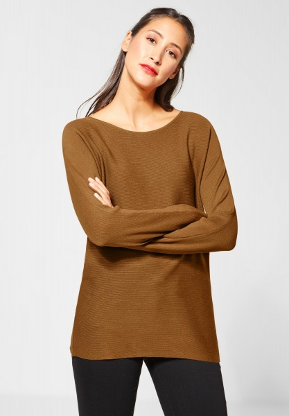 Street One - Basic Pullover Blanka in Strong Camel