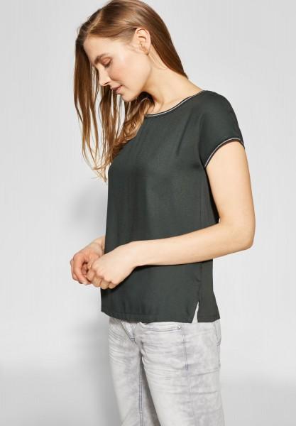 Street One - Shirt mit Glitzer Sahira in Chilled Green