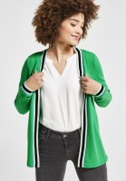Street One - Weiche Shirtjacke Perline in Spring Green