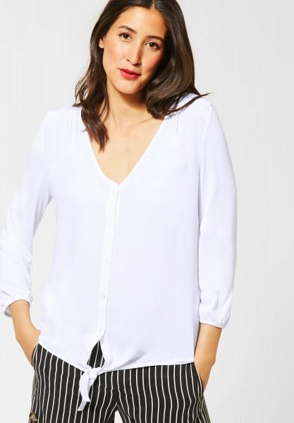 Street One - Shirt in Blusen-Optik in White