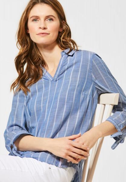 CECIL - Bluse mit Streifenmuster in Blouse Blue