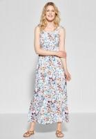CECIL - Maxi Kleid mit Blumenprint in White