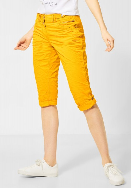 CECIL - 3/4 Hose im Colour-Style in Mango Yellow