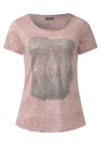 Street One - Burn-Federprintshirt Conny