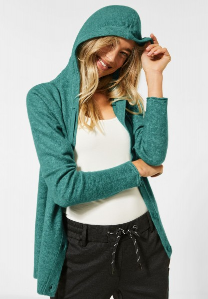 CECIL - Cardigan aus Flex Knit in Multicolored Mint Melange
