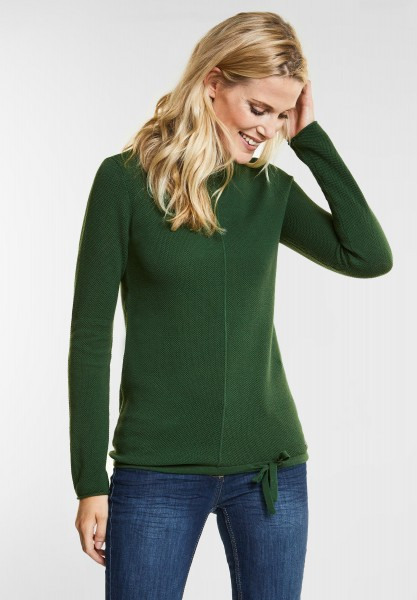 CECIL - Strick Pullover Amina in Fresh Meadow Green
