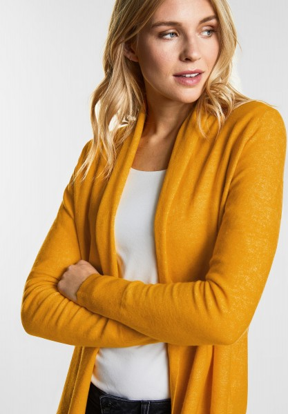 Street One - Weiche Strickjacke Layka in Clementine