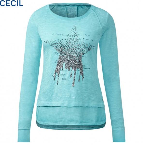 CECIL - Lagenlook-Shirt mit Stern