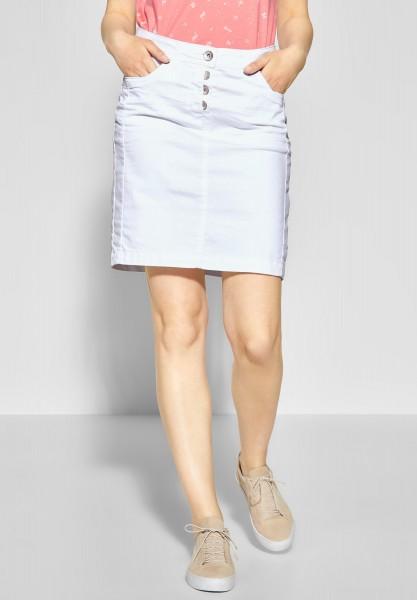 CECIL - Denim-Style Rock Jenna in White