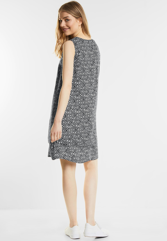Kleid mit Grafikprint in Black von Street One online kaufen