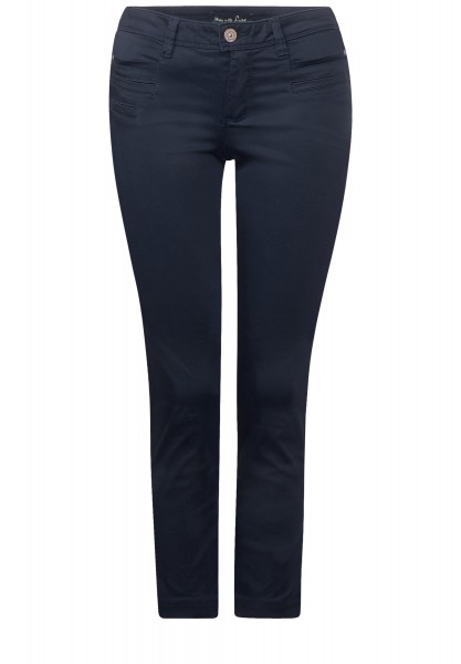 Street One - 7/8-Slim Fit Hose Yulius in Night Blue