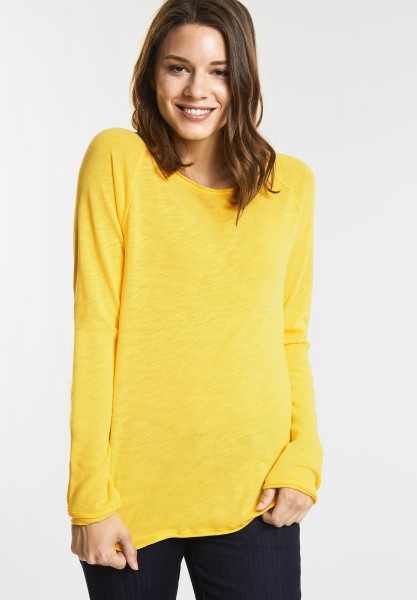 Street One Weiches Shirt Mina in Deep Lemon