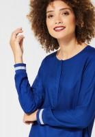Street One - Uni Bluse Vivian in Cobalt Blue