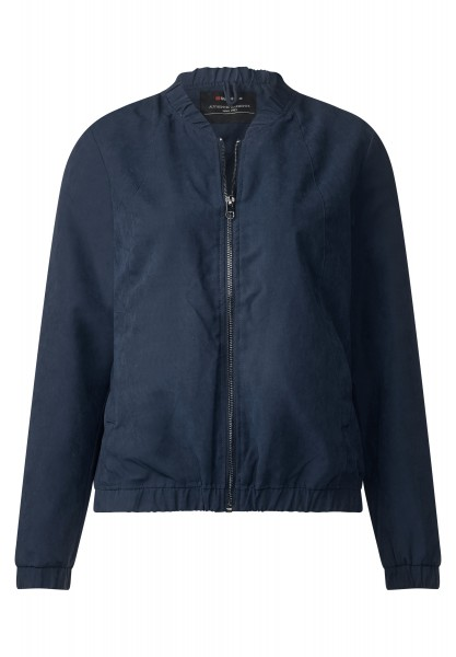 Street One - Weicher Blouson Jana Night Blue