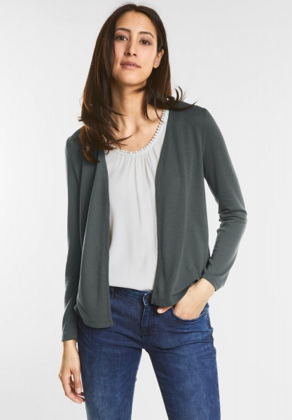 Street One - Open Style Cardigan Nette in Chilled Green