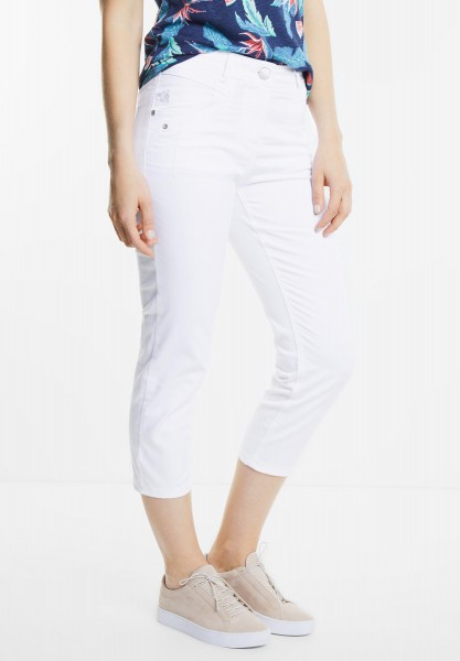 CECIL - Tight Fit 7/8-Hose Janet in White