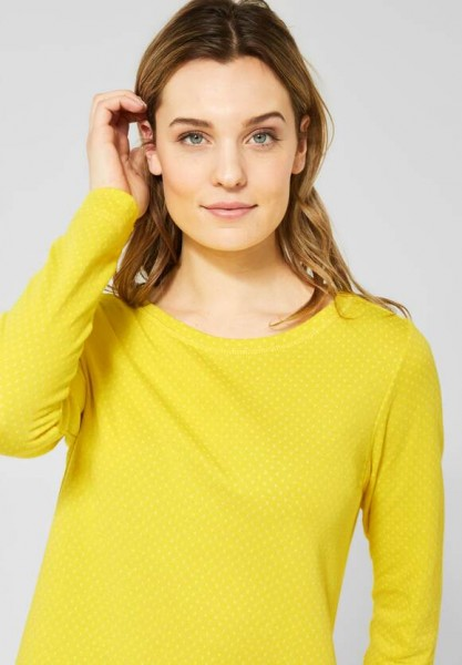 CECIL - Doubleface Shirt in Fresh Yellow in Fresh Yellow
