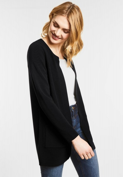 Street One - Openstyle Cardigan Erin in Black