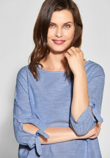 CECIL - Streifen Bluse in Blouse Blue
