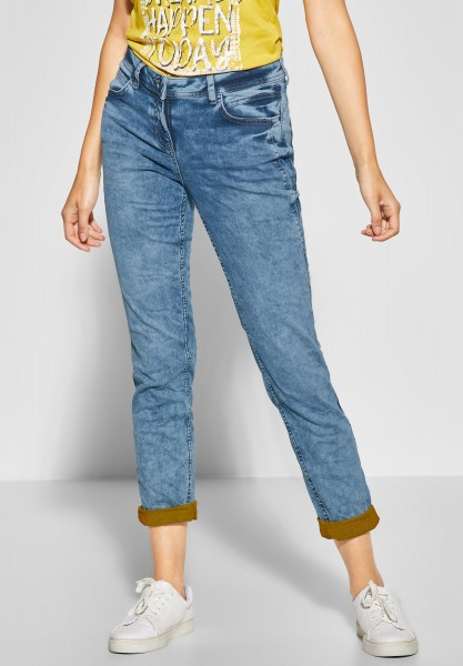 CECIL - Denim mit Farbtouch Scarlett in Light Blue Used Wash