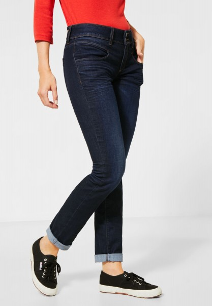 Street One - Repreve®-Denim im Casual Fit in Blue Soft Wash